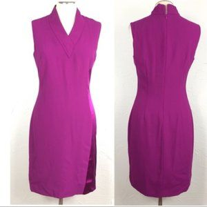 Elie Tahari Flannery sleeveless sheath dress sz 4